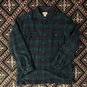 L.L. Bean Fleece Lined Flannel